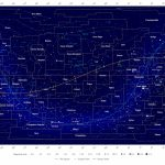 Map Of The Constellations   In The Sky Intended For Printable Star Map