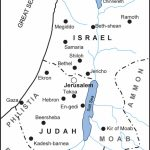 Map Of The Kingdoms Of Israel And Judah (Bible History Online) With Printable Bible Maps For Kids