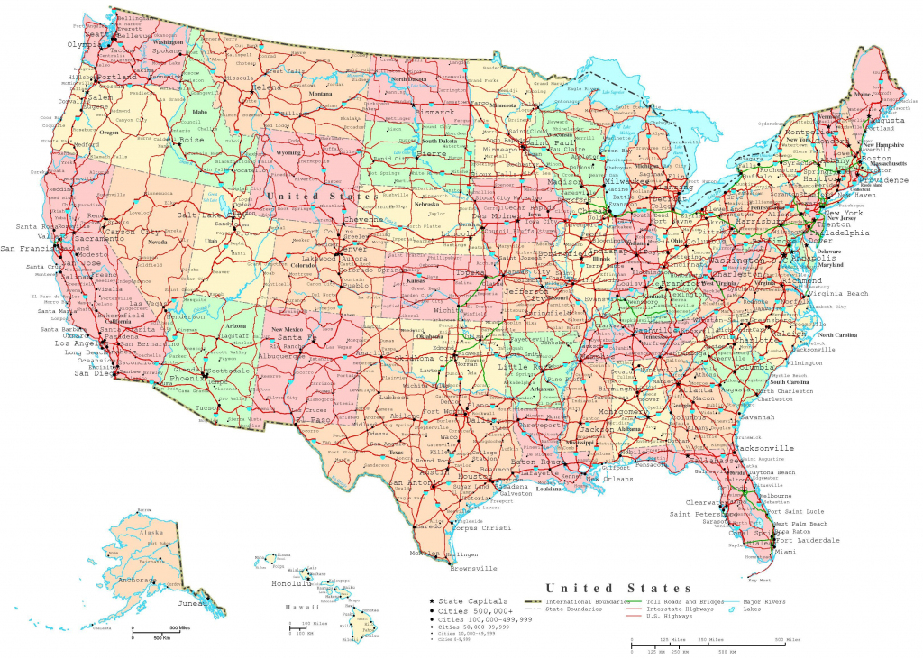 Map Of The Us States | Printable United States Map | Jb's Travels throughout Printable Road Maps By State