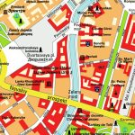 Map St. Petersburg, Russia (City Center). Central Downtown Maps And Within Printable Map Of St Petersburg Russia