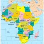Maps Of Africa With Regard To Printable Map Of Africa With Countries And Capitals