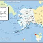 Maps Of Alaska State, Usa   Nations Online Project Pertaining To Printable Map Of Alaska With Cities And Towns