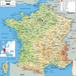 Maps Of France   Detailed Map Of France In English   Tourist Map Of Regarding Printable Road Map Of France