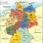 Maps Of Germany | Detailed Map Of Germany In English | Tourist Map Within Printable Map Of Germany