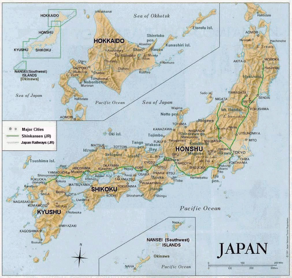 Maps Of Japan | Detailed Map Of Japan In English | Tourist Map Of intended for Free Printable Map Of Japan