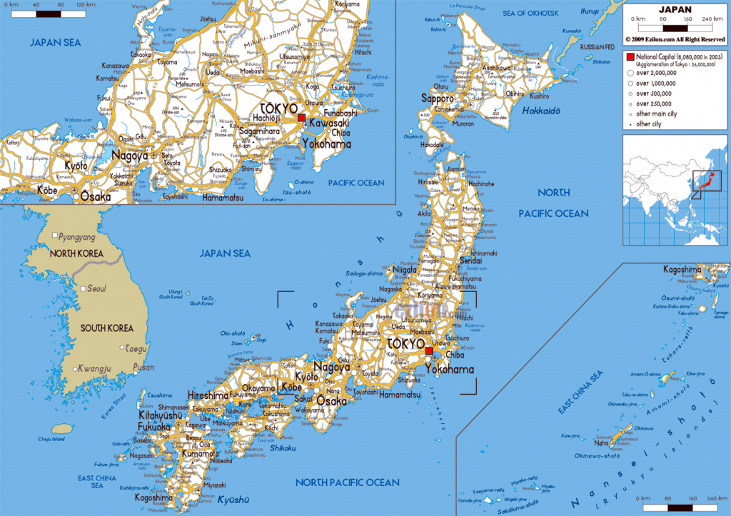 Maps Of Japan | Detailed Map Of Japan In English | Tourist Map Of intended for Printable Map Of Japan With Cities
