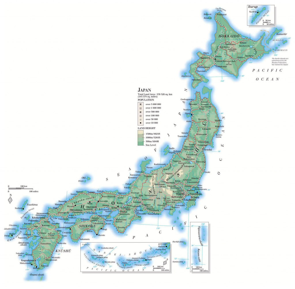 Maps Of Japan | Detailed Map Of Japan In English | Tourist Map Of within Large Printable Map Of Japan