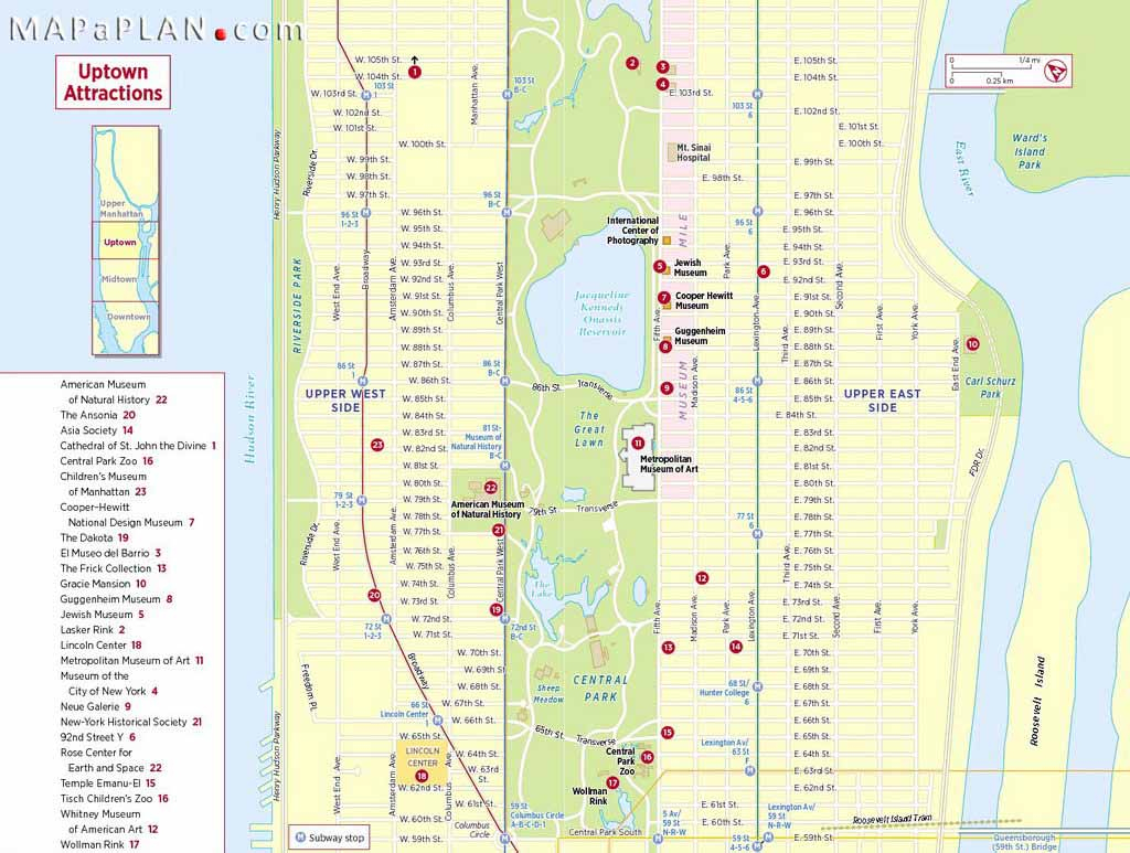 Maps Of New York Top Tourist Attractions - Free, Printable in Printable Map Of Downtown New York City