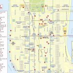 Maps Of New York Top Tourist Attractions   Free, Printable Inside Nyc Walking Map Printable