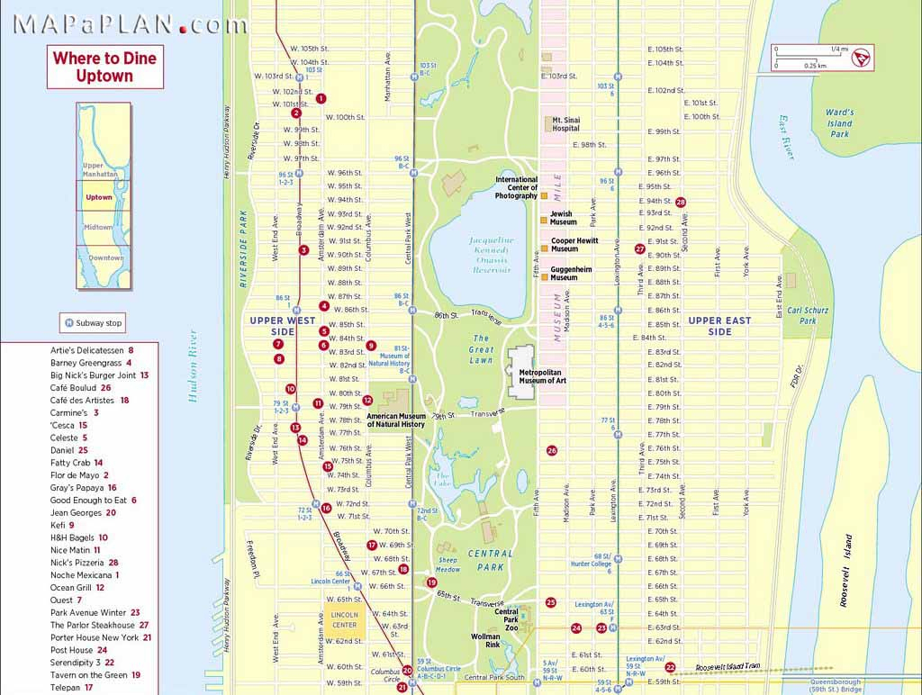 Maps Of New York Top Tourist Attractions - Free, Printable pertaining to Printable Street Map Of Manhattan Nyc