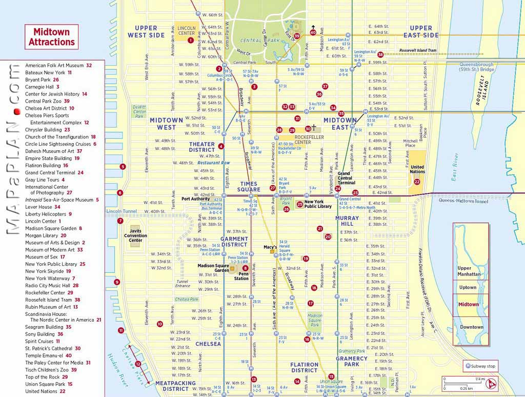 Maps Of New York Top Tourist Attractions - Free, Printable with regard to Printable Map Of Manhattan Pdf