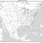 Maps Of The United States With Regard To Printable Usa Map With Cities