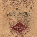 Marauder's Map | Harry Potter | Marauders Map, Map Wallpaper, The With Regard To Harry Potter Map Marauders Free Printable