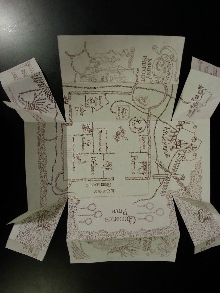 Marauders Map In 2019 | Potterhead | Harry Potter Theme, Harry pertaining to Harry Potter Map Marauders Free Printable