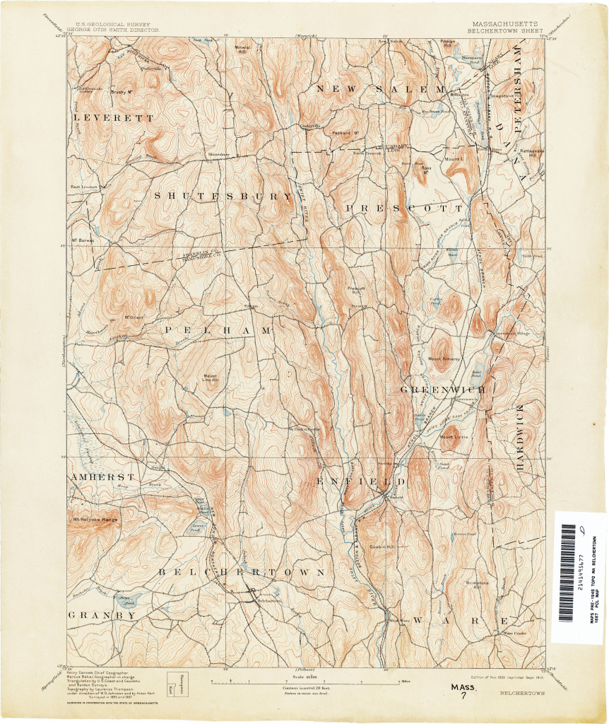 Massachusetts Historical Topographic Maps - Perry-Castañeda Map inside Printable Map Of Falmouth Ma