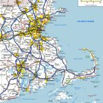 Massachusetts State Maps | Usa | Maps Of Massachusetts (Ma) For Printable Map Of Massachusetts