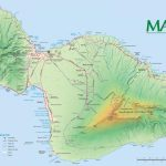 Maui Maps | Go Hawaii For Maui Road Map Printable
