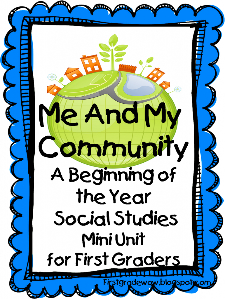 Me And My Community: A Beginning Of The Year Social Studies Mini pertaining to Community Map For Kids Printable