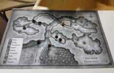Cragmaw Hideout Printable Map