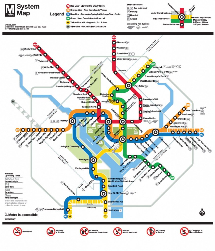 Metro | 2015 Arthur And Rochelle Belfer National Conference intended for Printable Washington Dc Metro Map