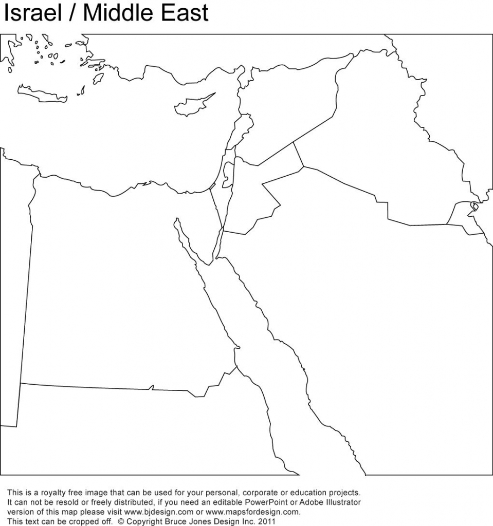 Middle East, Israel Printable Maps No Text | Girl Scout - World within Printable Blank Map Of Middle East