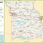 Missouri Highway Map Throughout Printable Map Of Missouri