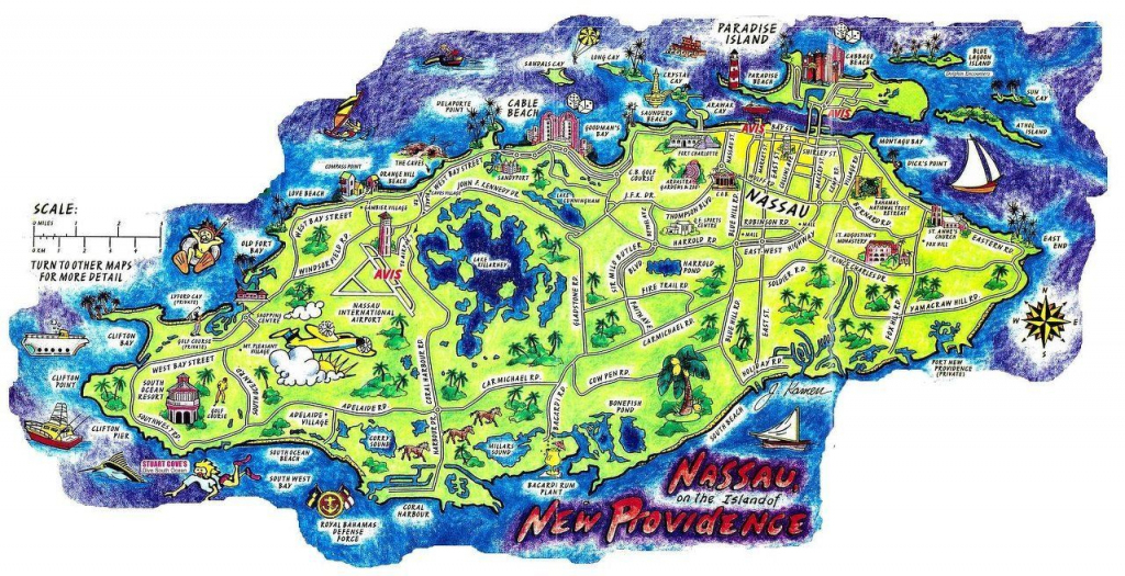 Nassau Bahamas Map | Concerts And Places I've Seen In 2019 | Nassau within Printable Map Of Nassau Bahamas