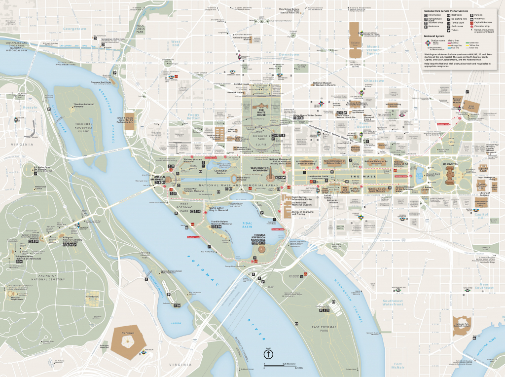 National Mall Maps | Npmaps - Just Free Maps, Period. with National Mall Map Printable
