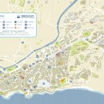 Nerja Tourist Map Intended For Printable Street Map Of Nerja Spain