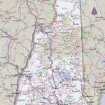 New Hampshire Road Map Throughout Printable Road Map Of New Hampshire