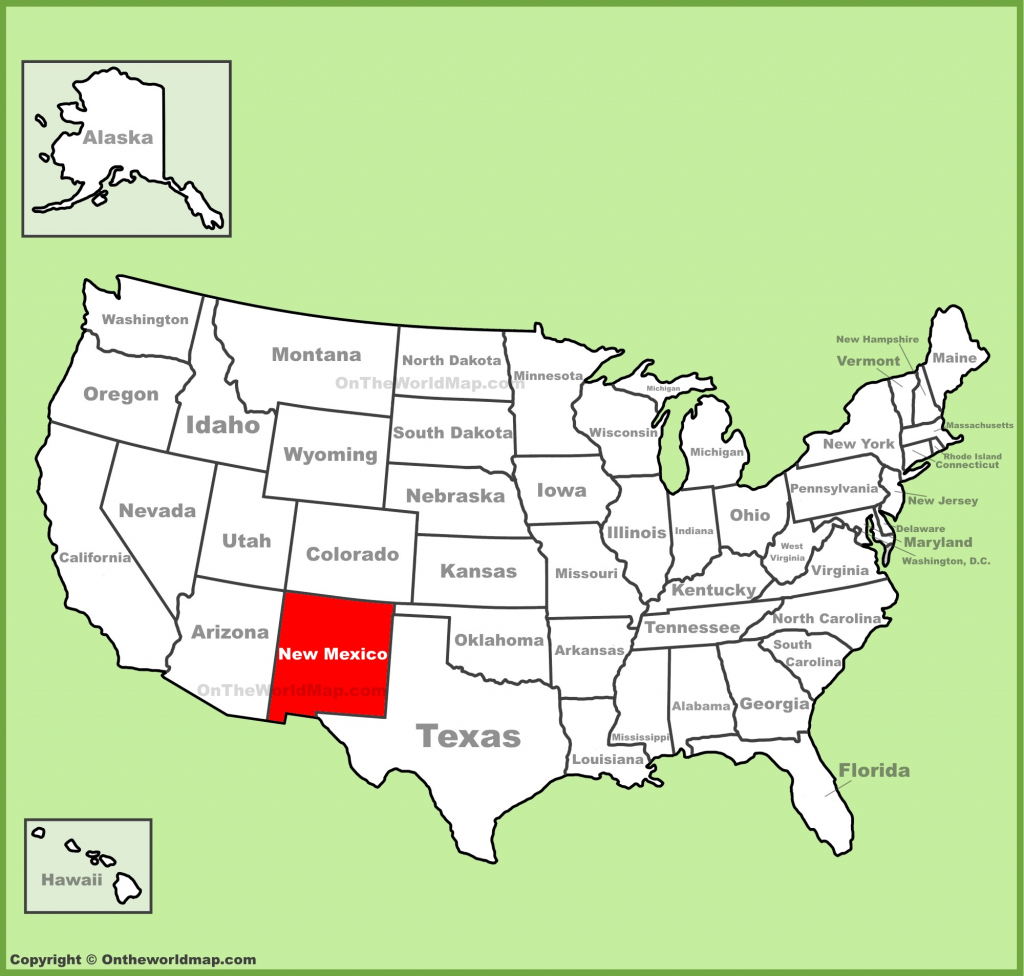 New Mexico State Maps | Usa | Maps Of New Mexico (Nm) with New Mexico State Map Printable