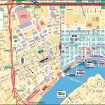 New Orleans French Quarter Tourist Map   Printable Map Of New Throughout Printable Map Of New Orleans