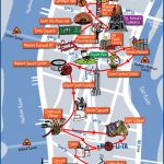 New York City Most Popular Attractions Map Pertaining To Map Of New York Attractions Printable