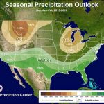 Noaa S Winter Weather Forecast Strong El Nino Unofficial In Map Of In Printable Weather Maps For Students