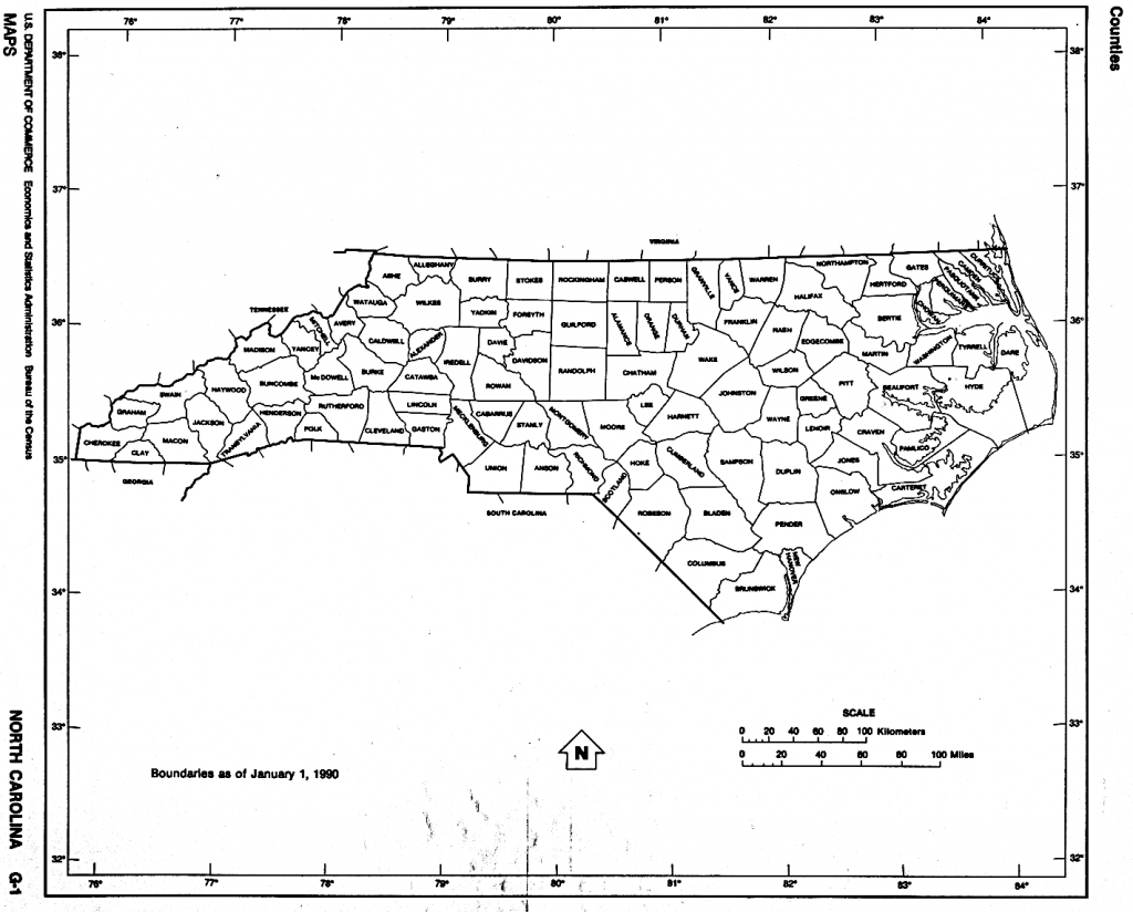 North Carolina Amazing North Carolina Map Outline - Diamant-Ltd in Printable Nc County Map