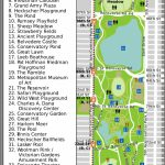 Nyc Central Park Map   Aishouzuo In Printable Map Of Central Park Nyc