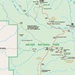 Official Arches National Park Map Pdf   My Utah Parks With Regard To Printable Map Of Utah National Parks