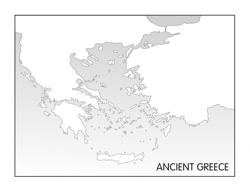 Outline Maps: Ancient Egypt And Greece | Random | Greece, Ancient pertaining to Outline Map Of Greece Printable