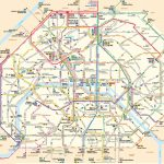 Paris Attractions Map Pdf   Free Printable Tourist Map Paris, Waking Inside Printable Map Of Paris