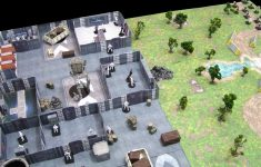 Paul's Star Wars Miniatures: More 3D Map Fun – Imperial Ground Base with regard to Star Wars Miniatures Printable Maps