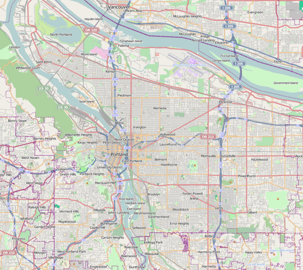 Pearl District, Portland, Oregon - Wikipedia throughout Printable Map Of Portland Oregon