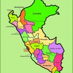 Peru Maps | Maps Of Peru For Printable Map Of Peru
