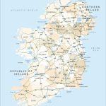 Political Map Of Ireland   Royalty Free Editable Vector   Maproom Intended For Printable Map Of Ireland