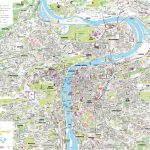 Prague Tourist Map Pertaining To Prague City Map Printable