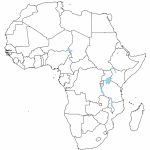 Printable Africa Map Blank | Biofocuscommunicatie For Printable Blank Map Of Africa