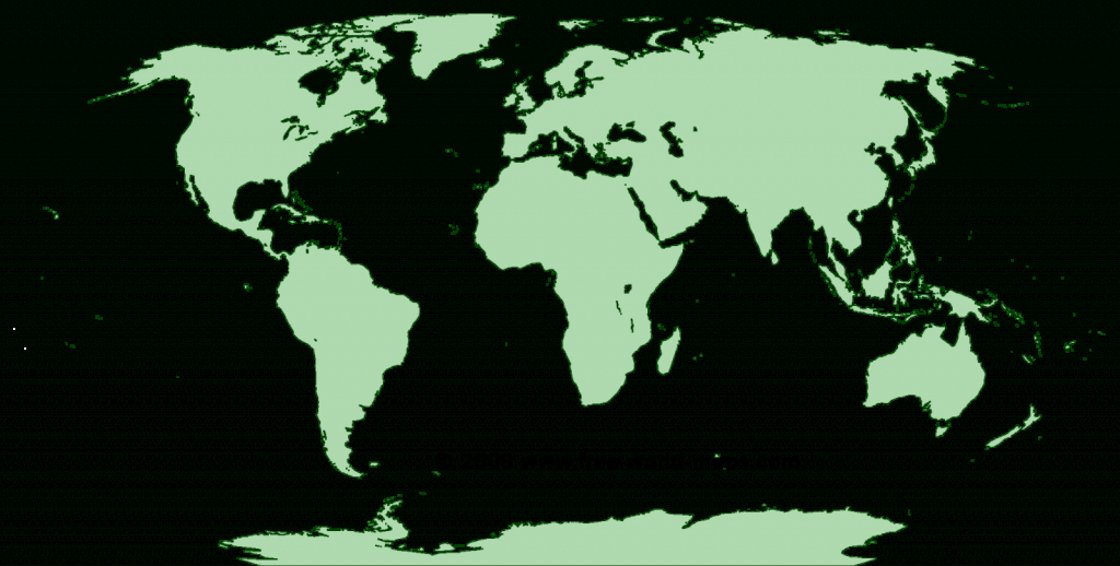 Printable Blank World Maps   Free World Maps intended for Free Printable World Map