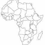 Printable Map Of Africa | Africa World Regional Blank Printable Map Regarding Free Printable Political Map Of Africa