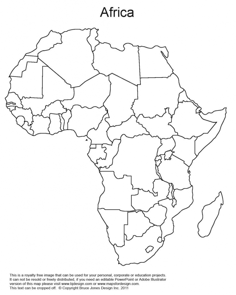 Printable Map Of Africa   Africa World Regional Blank Printable Map within Africa Outline Map Printable