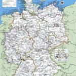 Printable Map Of Germany With Cities And Towns | Printable Maps | A Within Free Printable Map Of Germany
