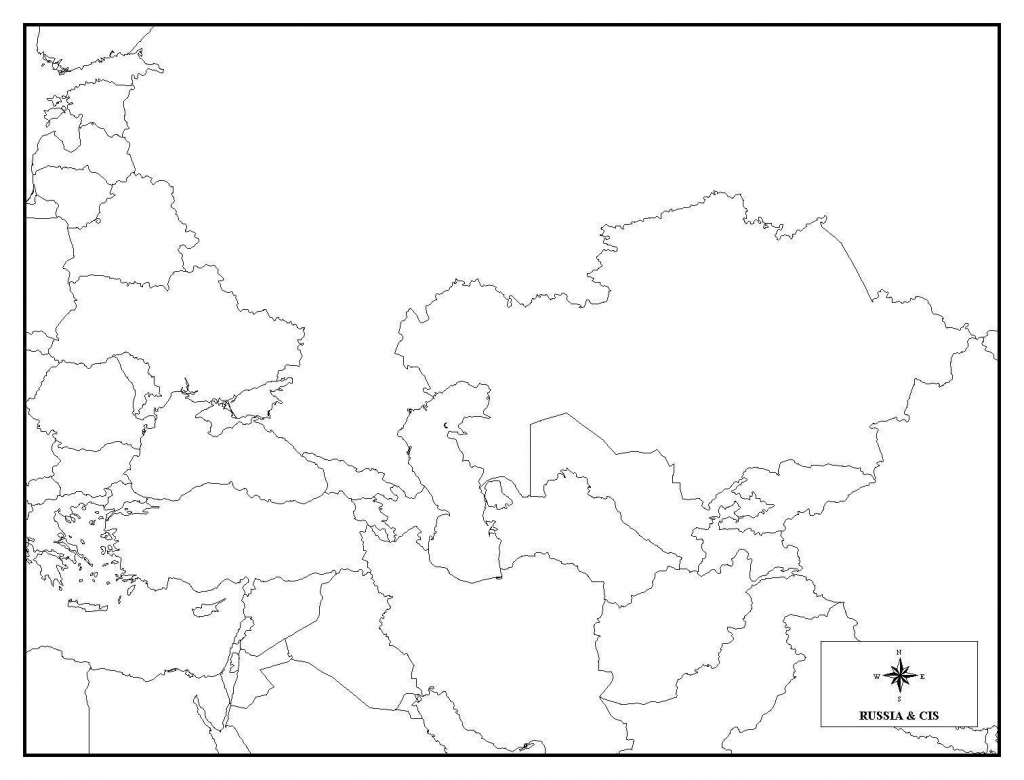 Printable Map Of Russia And Travel Information | Download Free with regard to Free Printable Map Of Russia